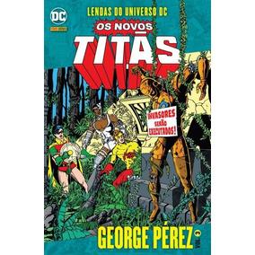 Hq Novos Titãs Lendas Do Universo Dc: George Pérez Vol. 3