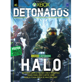Revista Xbox Detonados Halo Edição Especial Frete 12