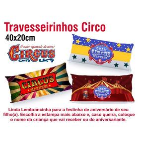 Almofadas Travesseiros 40x20 Circo (20 Unids)