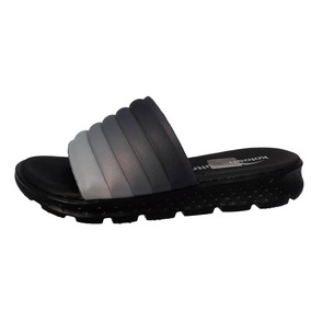 Chinelo Slide Cacharel Degrade Grafite C1102 Kolosh
