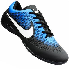 61d6977418 Tenis De Futsal Da Nike Azul - Chuteiras Nike de Futsal no Mercado ...