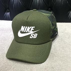 Boné Nike Sb Performance Trucker Camuflado Telinha Novo 409565baf44