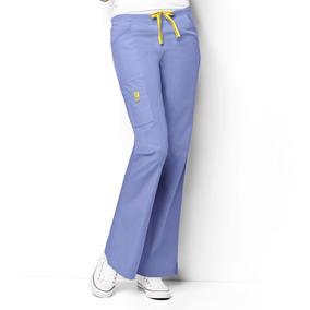 Pantalón Clínico Mujer 5026a Celeste
