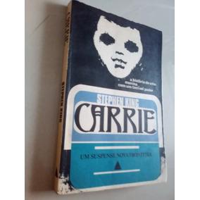 Stephen King,carrie De 1974 Livro Super Raro.