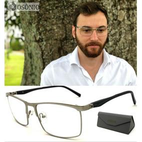 40d27749e8d4c Oculo Grau Masculino Original - Óculos Prateado no Mercado Livre Brasil