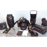 Nikon D3300 Video Full Hd, Wifi, 24 Mpixeles Y Accesorios Ls