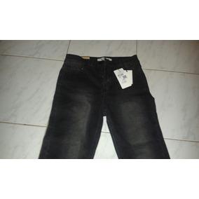 Pantalón Vaquero Negro Chupín Elastizado Talle 36 f8673b60efda