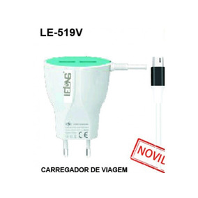 Kit 20 Carregador Rapido Lelong V.8 2.4a Le-519v