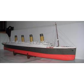 2(maquetes) R.m.s Titanic, O Espacial Buran (papel P Montar)