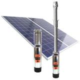 Bomba Sumergible Solar Nastec Nera 3000l/h + Paneles Italia