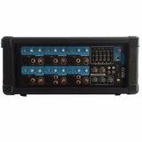 Consola Mixer Potenciada Moon M610 6 Canales 200w