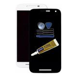 Display Touch Moto G3 + Ferramentas + Cola Y7000 15ml