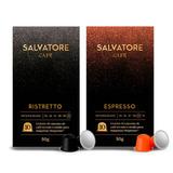 Kit 20 Cápsulas Ristretto E Espresso Compatíveis Nespresso