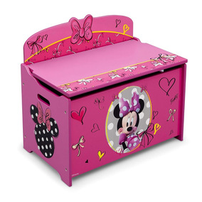 Baúl Juguetero De Madera Minnie Mouse Disney Niñas ·   1 cb2ea9c0c67