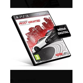 Need For Speed Most Wanted Psn Ps3 Mídia Digital Jogo Compra