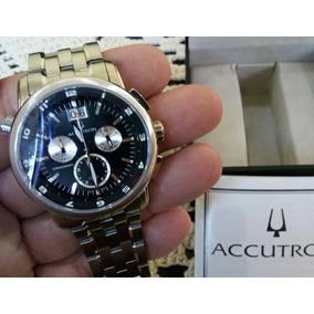 Relógio Accutron Cronógraph Bulova Luxo