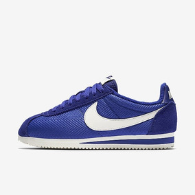 Tênis Nike Classic Cortez Textile Azul