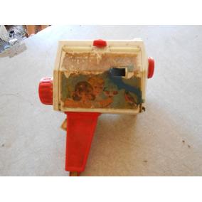 Brinquedo Filmadora Antiga Fisher Price P/ Decorar Restaurar