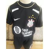 Camisa Corinthians Infantil 6 Anos - Futebol no Mercado Livre Brasil ec29738f984da