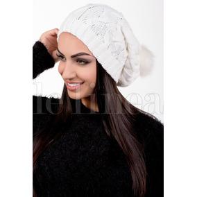 Touca De Lã Branca Toucas - Acessórios da Moda no Mercado Livre Brasil 0ca6b9b3bbc