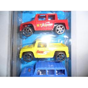 Carros 6 Unidades Coleção Cartela - Cada