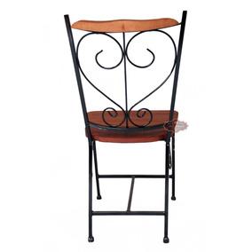 Cadeira Ferro E Madeira Restaurantes Promoção So Ate Domingo