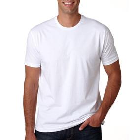 Camiseta Branca Lisa Em Malha Pet Em 50 Algodao 50 Pet Recic ... fbceb4c381ba1