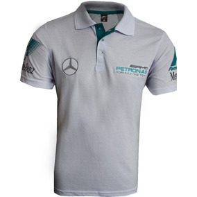 Camisa Polo Formula 1 Mercedes Petronas Amg 41a13025d50f5