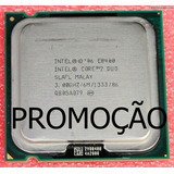 Processador Intel Core 2 Duo E8400 3.00 Ghz Muito Rápido !
