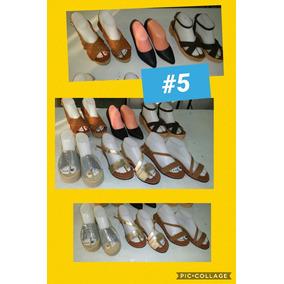 Lote (6 Pares ) Calzado Dama Varios Modelos (num 5)