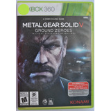 Metal Gear Solid V Ground Zeroes Xbox 360* Play Magic