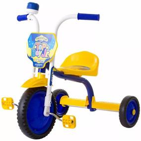 Triciclo 3 Rodas Bicicleta Infantil Menino Ultra Bike Am Azl