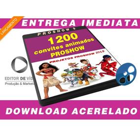 Mega Pacote De Convites Animado Editável Proshow 2019