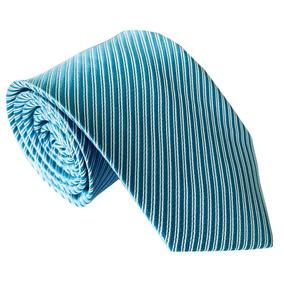 Gravata Riscada Azul Tiffany Para Padrinhos - Acessórios da Moda no ... a724e4c606