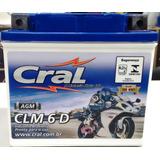 Bateria Cg 150 Partida Eletrica Biz Bros Xre Ybr Clm6d 0097