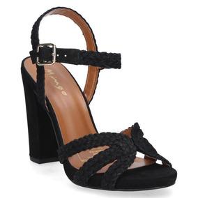 Sandalia Casual Mingo Mujer Negro - S543