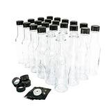 Paquete De 24 Oz Botella De Salsa Picante De Vidrio Trans