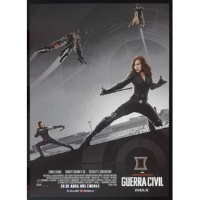 Capitão América: Guerra Civil - Black Widow - Pôster Imax