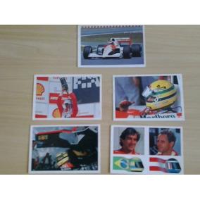 Ayrton Senna F1 Cards 1991 Original - Frete Grátis
