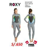 Wetsuit Roxy en Mercado Libre Perú 3a0b2e2ef