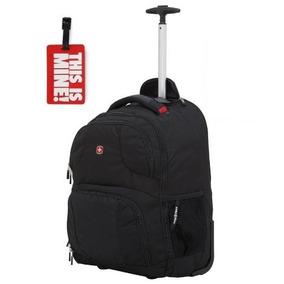 Bolsa Swissgear Preta Grande Bolso Para Notebook Até 17 +tag