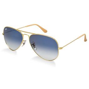 ec809af5cc010 Rayban Aviador Azul - Óculos De Sol Ray-Ban Aviator no Mercado Livre ...