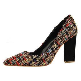 Zapatos Dama Tacon Medio - Tacones para Mujer en Mercado Libre Colombia 6844d5dad587