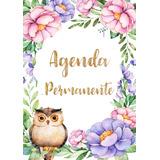 Agenda Permanente Sin Año Imprimible