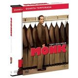 Box - Monk - 4ª Temporada Completa (4 Discos) Tony Shalhoub