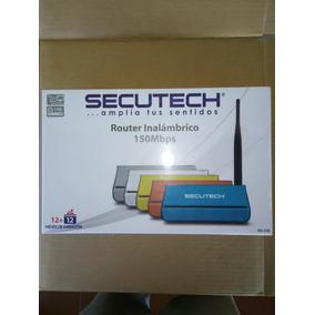 Router Secutech Modelo Ris-33. 150mbps 4 Puertos