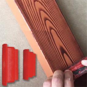 Rodillo Veteador Para Pintar Con Acabado Imitación Madera