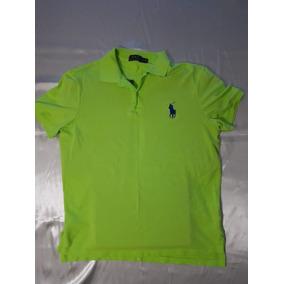 Polo Express Verde Limon Small Camisas Polos Blusas Mujer - Ropa ... 3b9d6bbf287e3