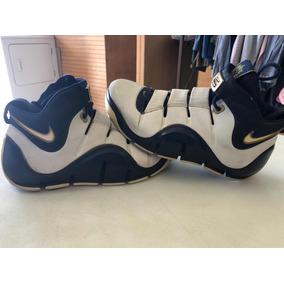 f5989cc388d Nike Zoom Lebron Iv West Coast Navy Gold 8.5mx