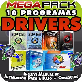 Programas Drivers Pc Sonido Audio Video Red Lan Wlan Wifi Y+